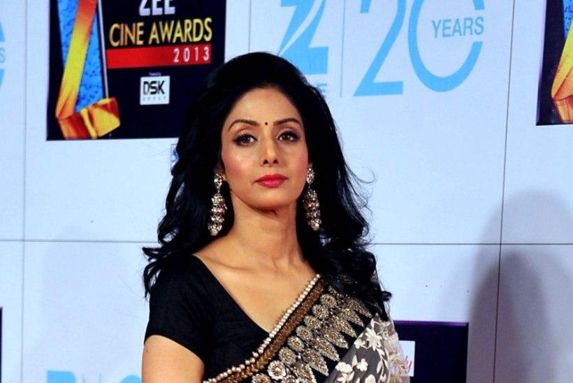 Bollywood on leinas: suri näitleja Sridevi