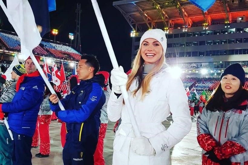 GALERII | Pyeongchangi talimängud on ametlikult lõppenud! Eesti lippu kandis särav Saskia Alusalu