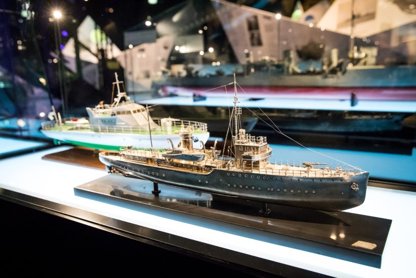 GALERII   Eesti meremuuseum tähistas oma 83. sünnipäeva grandioosse näituse avamisega