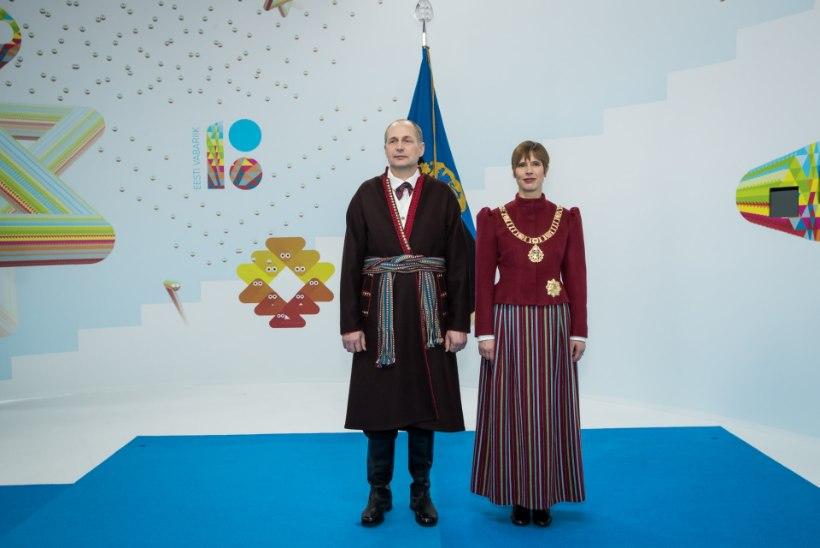 FOTOD | President kannab tänavu vastuvõtul Tori rahvariideid!