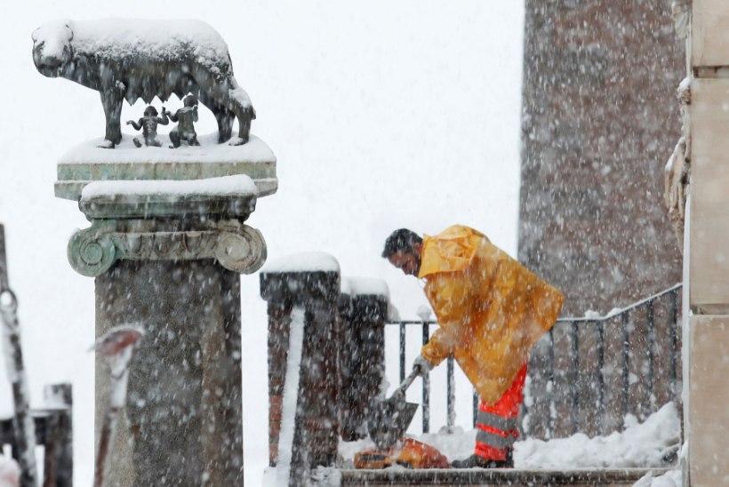 GALERII | JAHMATAV: Siberi karm talv vallutab ja šokeerib Roomat ning Lääne-Euroopat