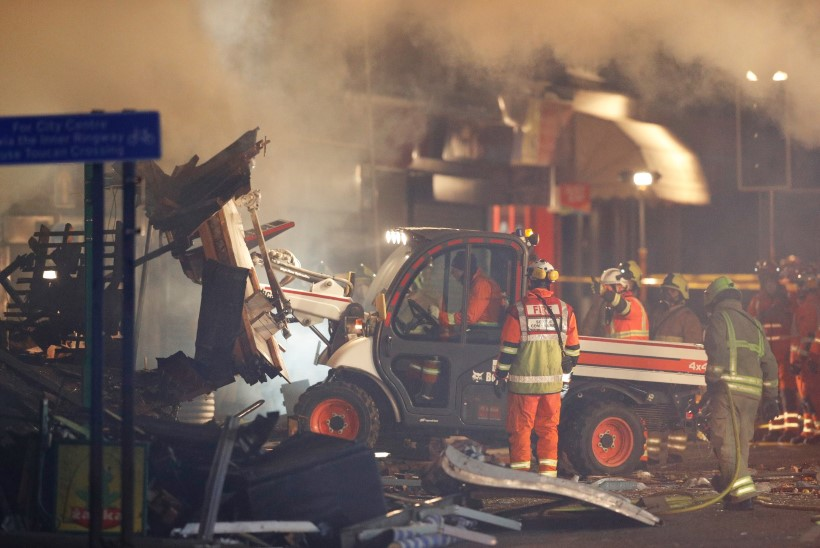 Suurbritannia Leicesteri linna toidupoes toimus plahvatus