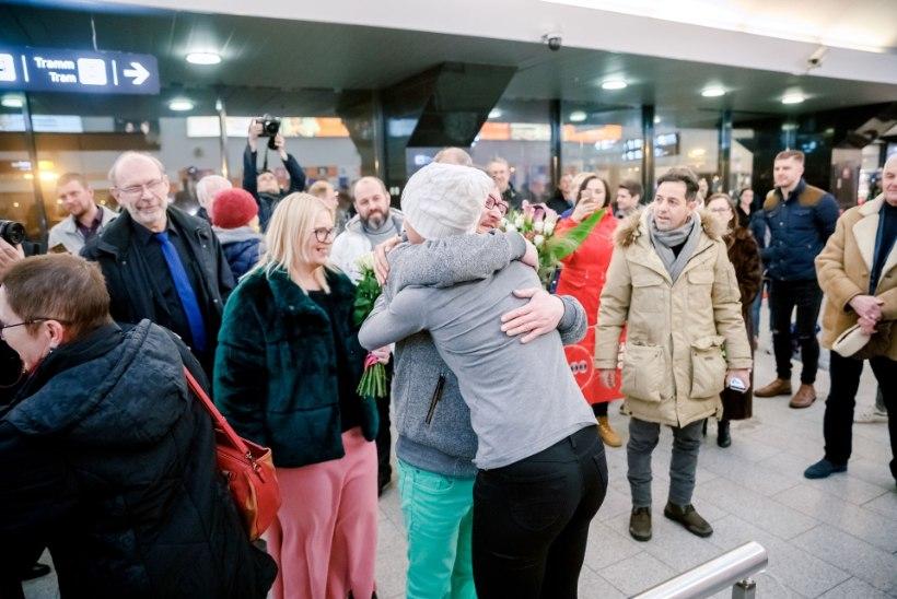 GALERII   Kiiruisutamise neljas naine Saskia Alusalu jõudis tagasi Maarjamaale