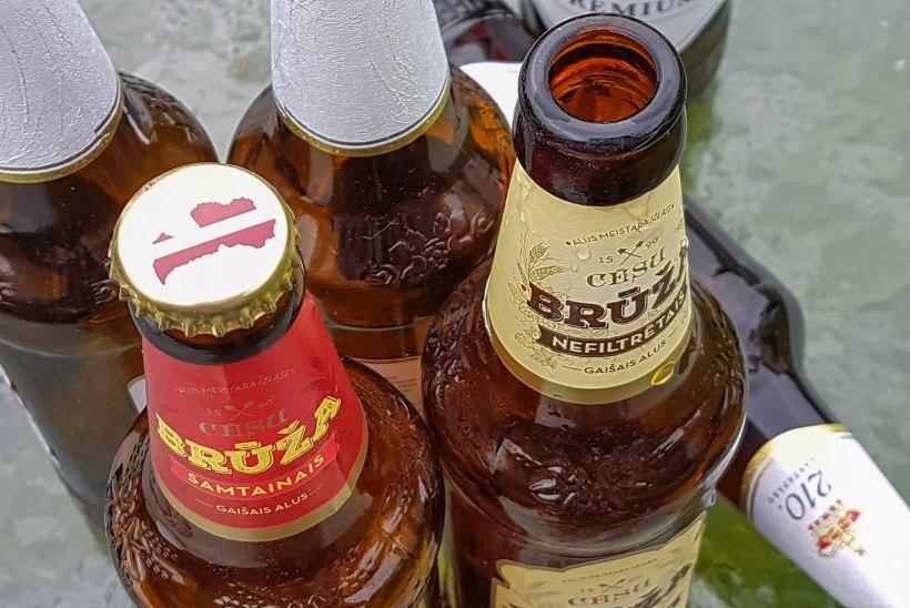 Lätis tõuseb õlleaktsiis 1. märtsil poole võrra