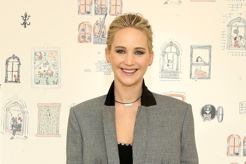 Jennifer Lawrence jättis kooli 14aastaselt pooleli