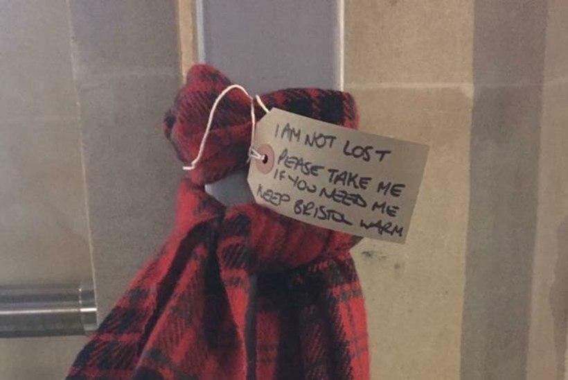 Südamlik aktsioon Bristolis: inimesed jätavad tänavaile salle ja kindaid, et kodutud ei külmetaks