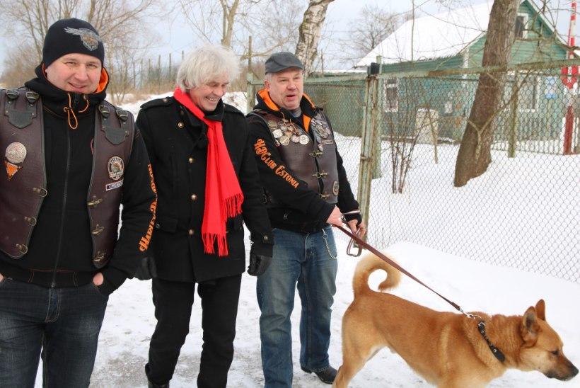 VIDEO | Harley-jõmmid käisid loomade varjupaiga koeri jalutamas
