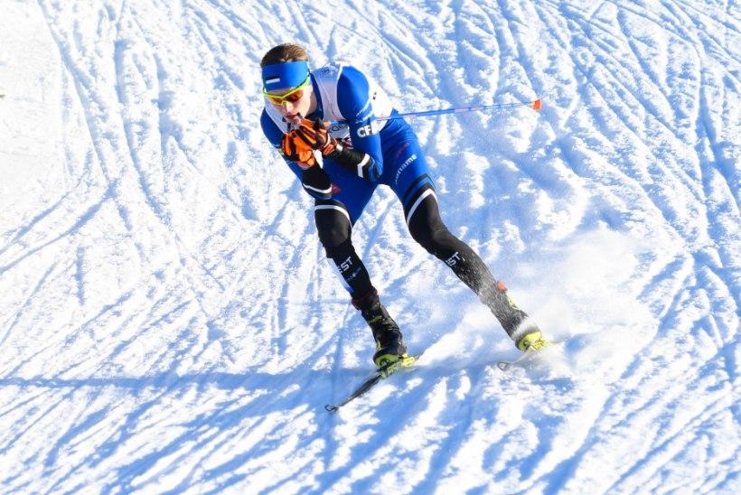 SUPER TULEMUS! Kristjan Ilves jäi MK-etapil esimesena poodiumilt välja