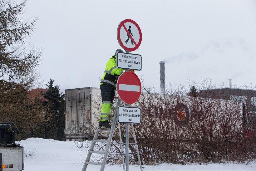 PILTUUDIS | Rakvere lihakombinaat valmistub streigiks: kombinaati pääseb vaid loaga