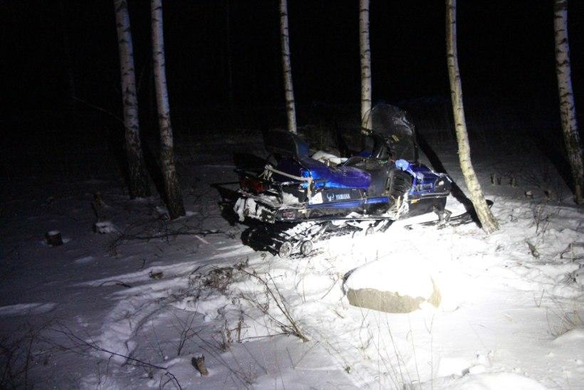 Tartumaal hukkus mootorsaaniõnnetuses 36aastane mees