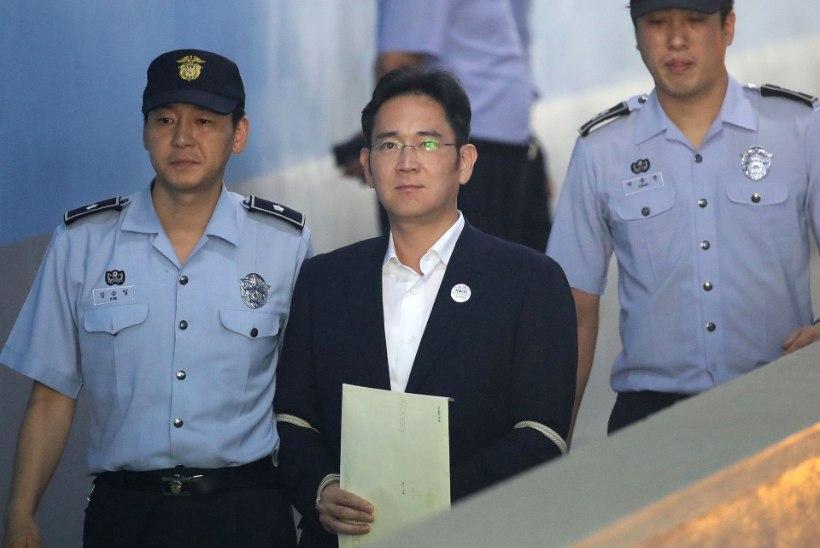 Samsungi pärija vabastati vanglast