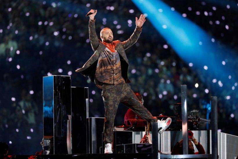 VIDEO | Justin Timberlake esitas Super Bowlil oma hittide popurrii