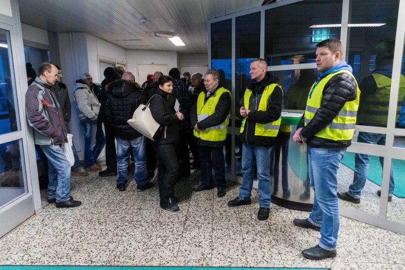 """Rakvere lihatööstuse streikijad: """"Me läheme lõpuni välja!"""""""