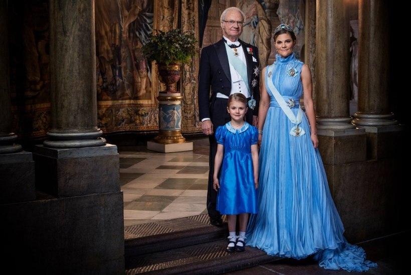 Rootsi kuningakoda avaldas tähtsa juubeli puhul imekauni portree
