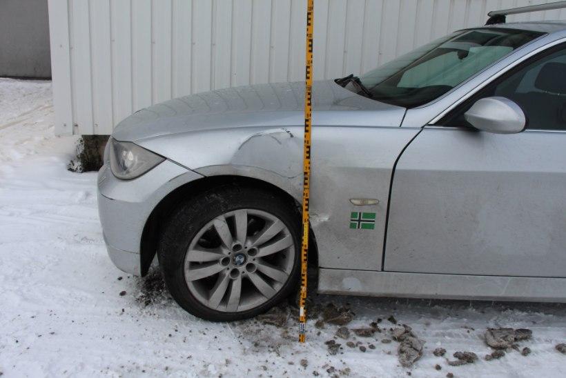 POLITSEI PALUB ABI: kes nägi, kuidas Tartus BMW ära mõlgiti?