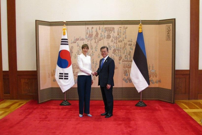 VIIES KORD: presidendi ja tema abikaasa ühised visiidid saab veel sõrmedel kokku lugeda