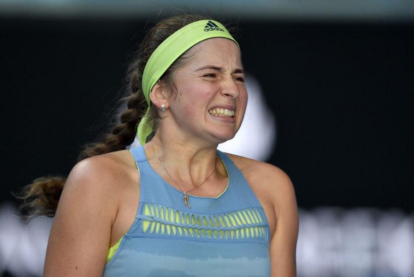 TOHOH! Jelena Ostapenko kaotas Tallinnas maailma 161. reketile