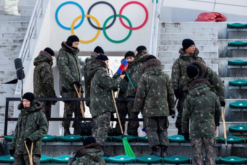 KARM: viirusepuhang murrab vahetult enne Pyeongchangi olümpia algust inimesi massides