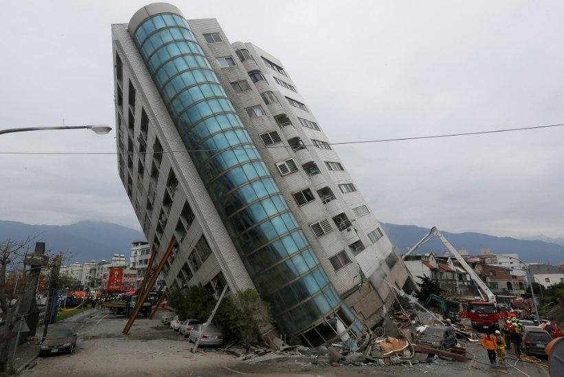 GALERII JA VIDEO | Taiwanis maju kummuli ajanud maavärinas on kadunuks jäänud üle 140 inimese