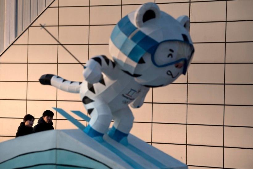 Noroviirusesse nakatub olümpial aina rohkem inimesi, Eesti koondislaste kätlemine keelati ära