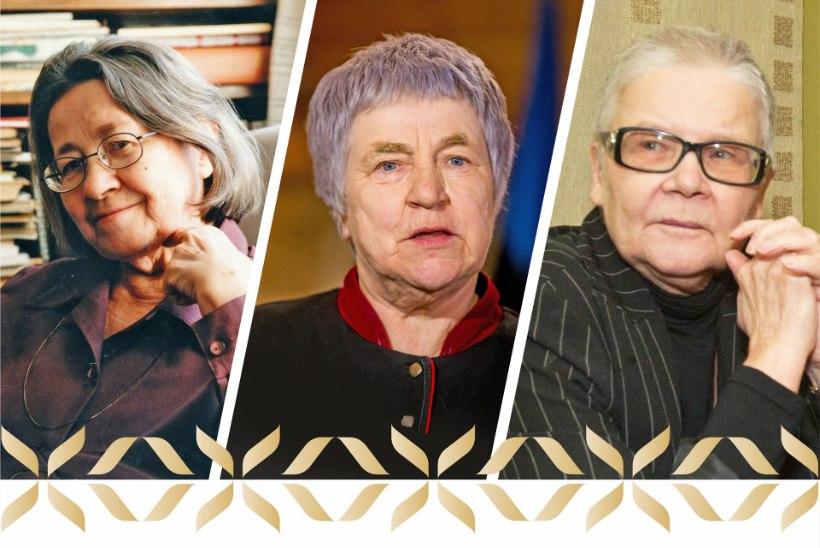 Kultuuri elutööpreemia saavad Merle Karusoo, Aino Pervik ja Anu Raud