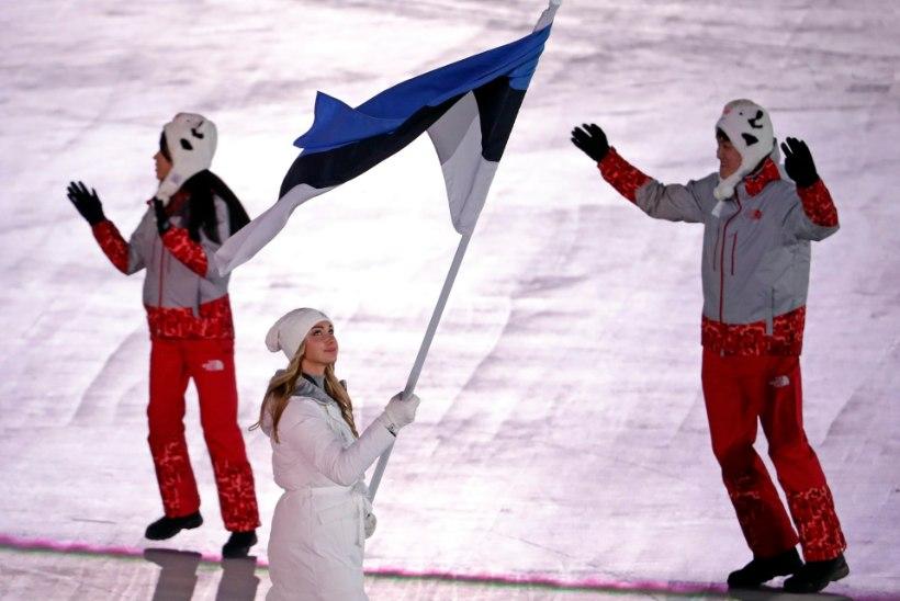 ÕL OLÜMPIAL | Avatseremoonial silma märjaks saanud Saskia Alusalu: kõik hirmutasid, et lipp võib keerdu minna