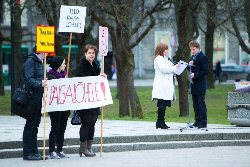 Ossinovski asub soolist palgalõhet vähendama