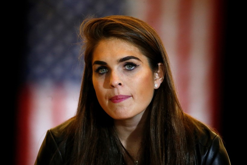 Valge Maja kommunikatsioonijuht Hope Hicks pani ameti maha