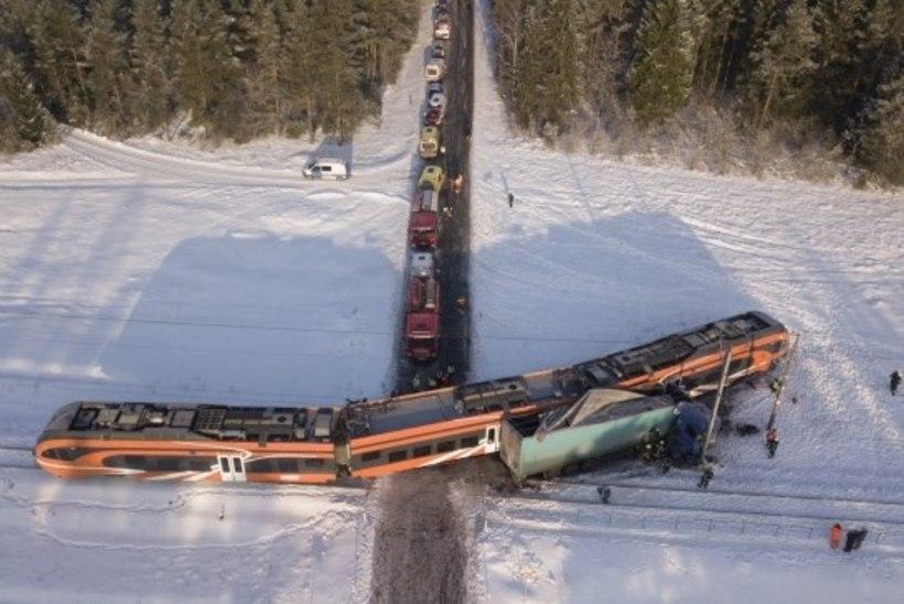 Rongiõnnetuse ohvrid said koju