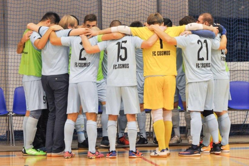 JÄRELVAADATAV   Grigorjevi vinge kübaratrikk viis FC Cosmose finaali