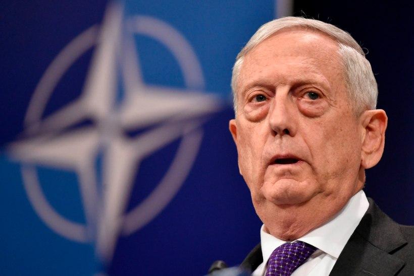 USA kaitseminister hoiatas Süüriat gaasi kasutamise eest