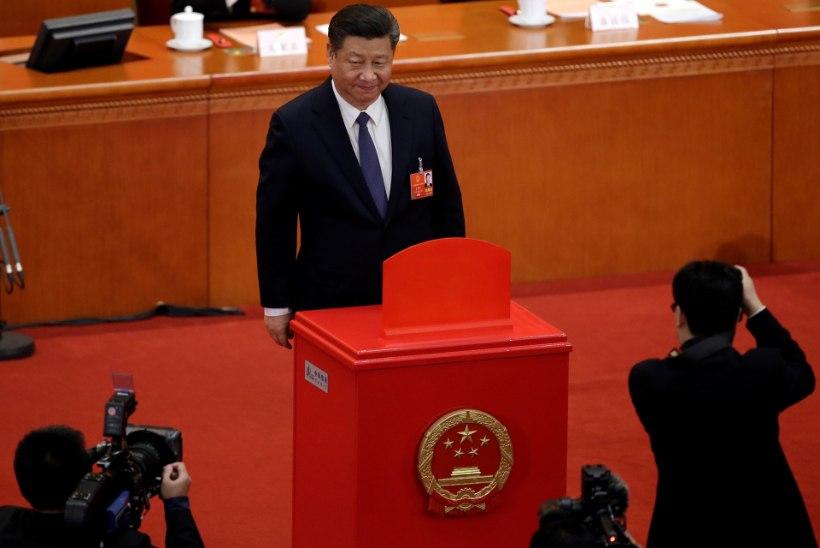 Hiina president Xi Jinping võib võimule jääda piiramatuks ajaks