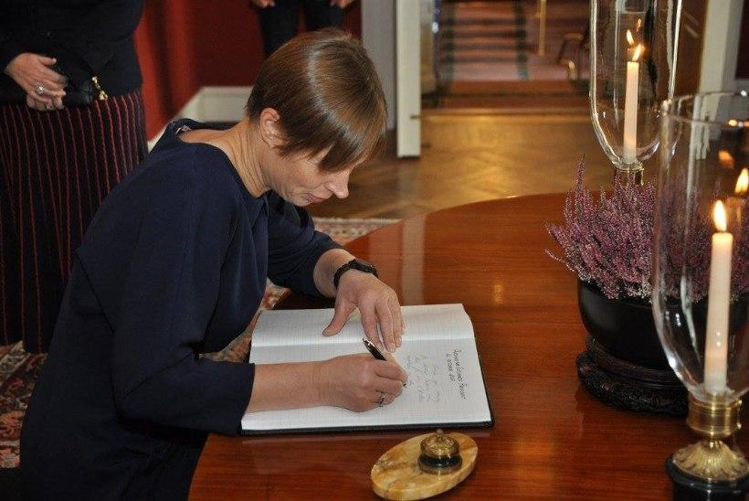 Kuhu saadab president Kersti Kaljulaid kõige rohkem autogramme?