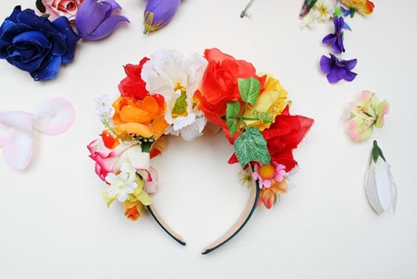 Ohh, kui ilus! Tee ise lilledega kaunistatud peavõru!