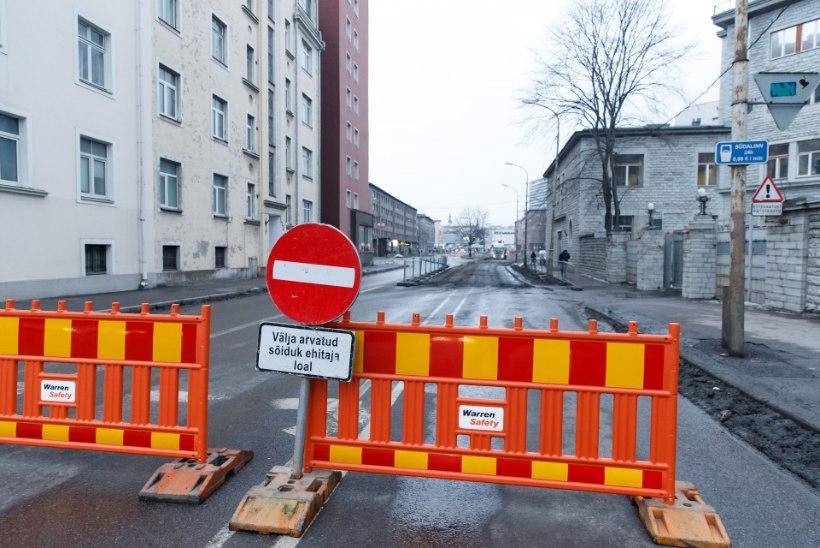 ÕL VIDEO ja GALERII | Gonsiori tänava remont ajas Tallinna kesklinna täiesti umbe