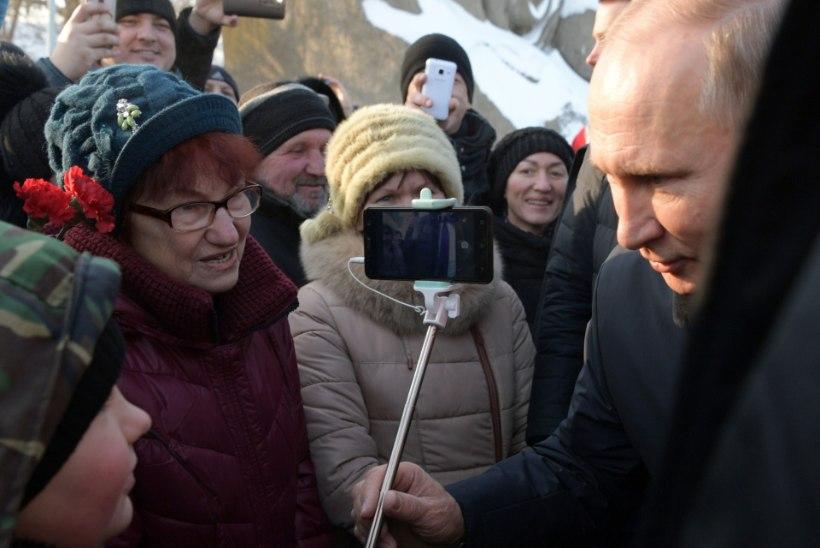 VIDEO | Võimuahne, kena välimusega, või parim president maailmas? Vaata, mida arvavad inimesed Putinist väljaspool Venemaad