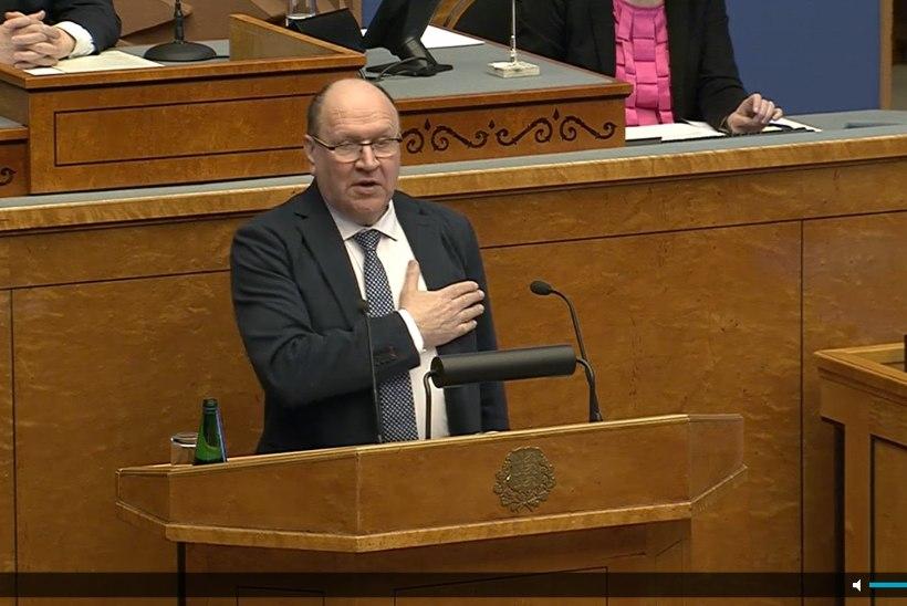 """Helme riigikogus: äkki laulame järgmisel aastavahetusel kõik koos """"Õllepruulijat""""? See on ka tore rahvuslik laul, mis südames"""