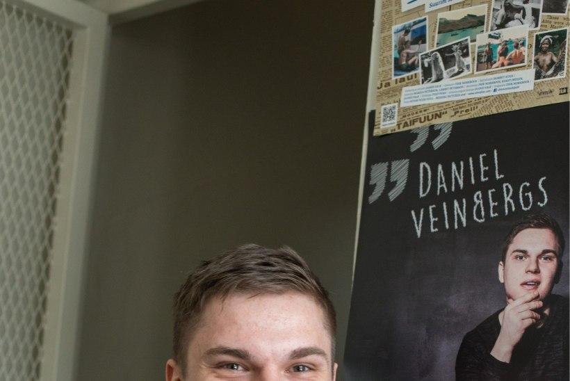 Püstijalakoomik Daniel Veinbergs: 16-aastasena olid mu naljad valdavalt vägivalla ja pedofiilia kohta
