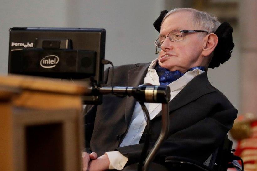 Suri füüsikateoreetik Stephen Hawking