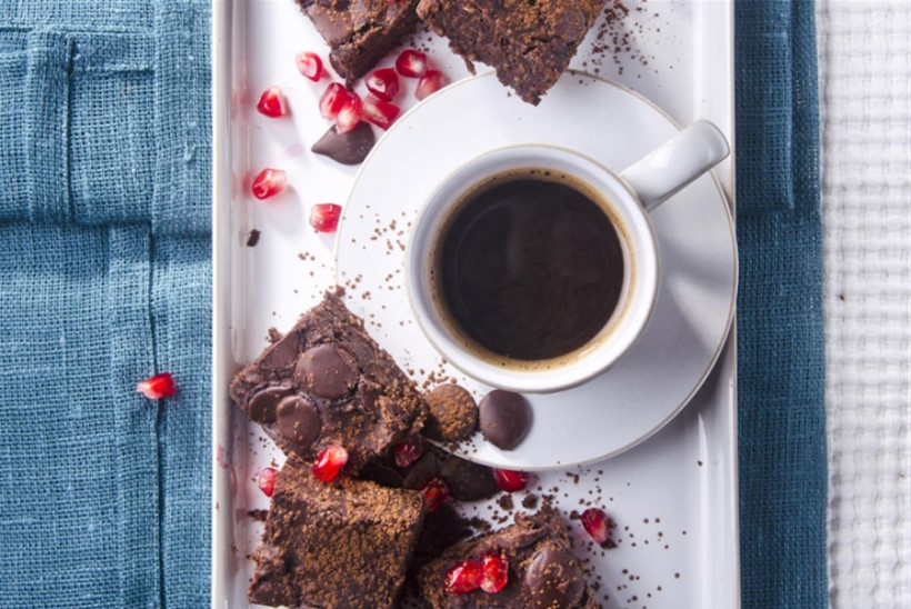 Musta oa brownie'd