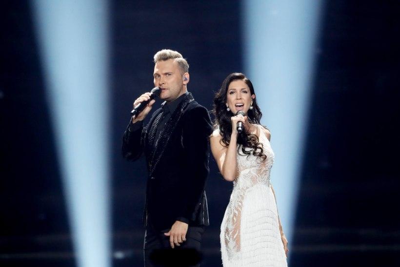 EESTI 25 AASTAT EUROVISIONIL | Üks võit, kaks rootslannat ja finaali ukse taha jäämised ehk millised lood on Eestit Eurovisionil esindanud