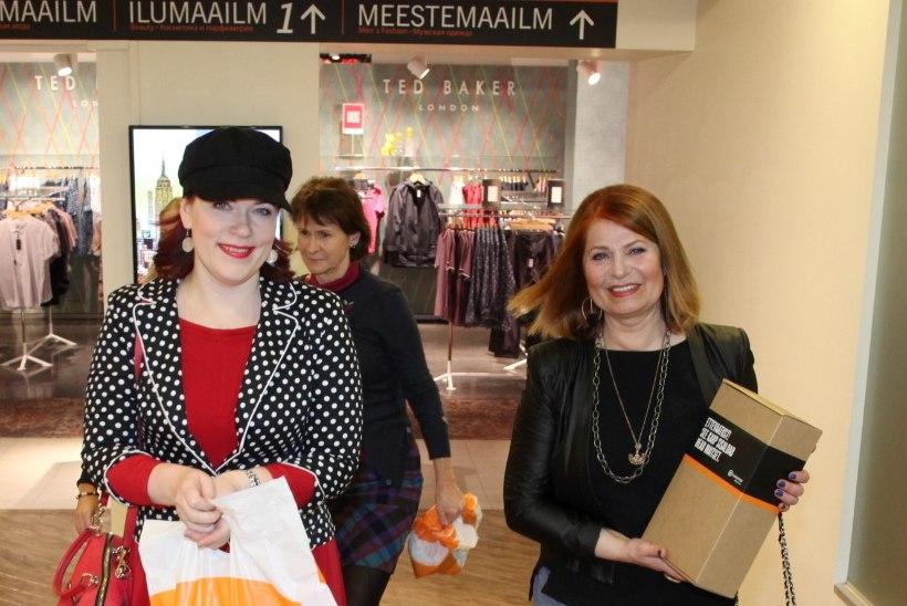 GALERII | Shopahoolikud lustisid öösel Tallinna Kaubamajas