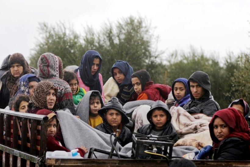 GALERII   Afrinist ja Ghoutast on viimastel päevadel põgenenud 50 000 inimest