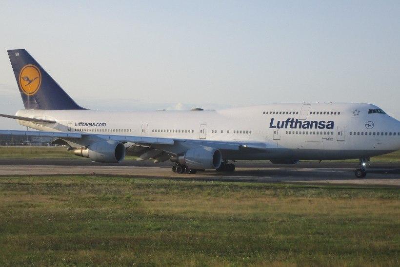Lennukompanii Lufthansa näitab rekordkasumit