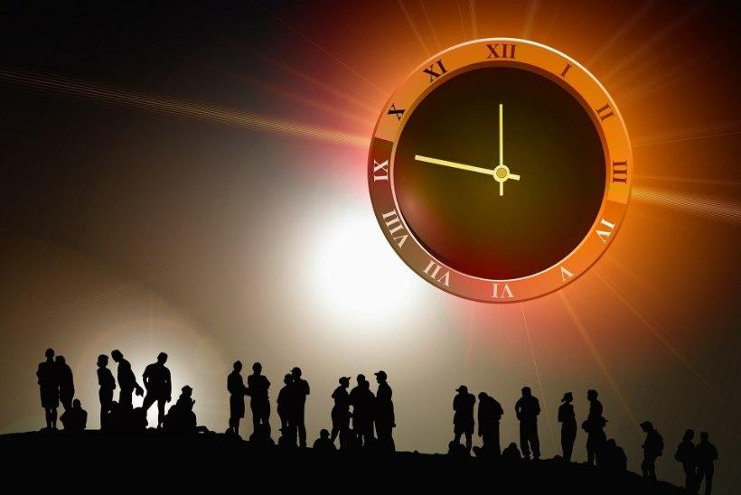 Kas tulevik on ees või selja taga? Või liigub aeg hoopis ülalt alla?