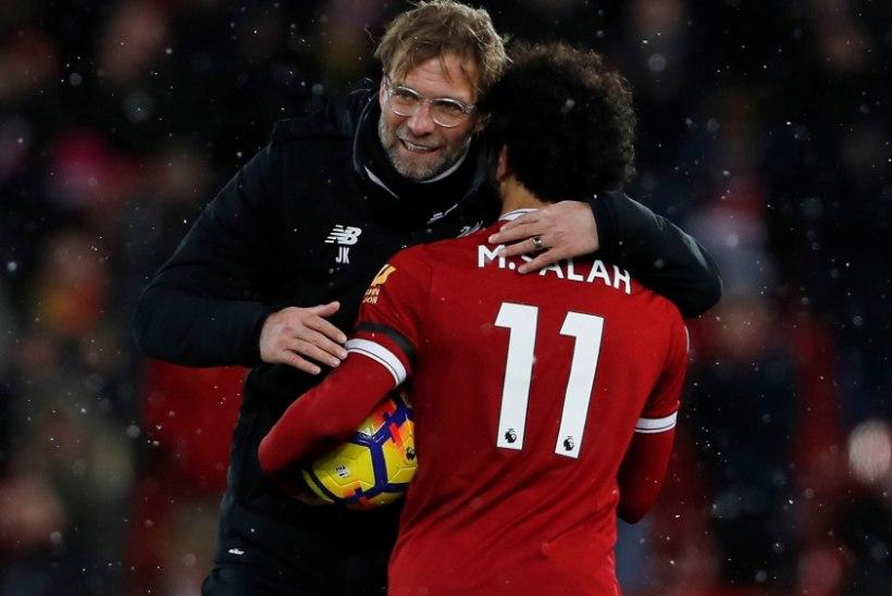 Klopp: Salah hakkab saavutama taset, mis kannatab võrdlust Maradona ja Messiga