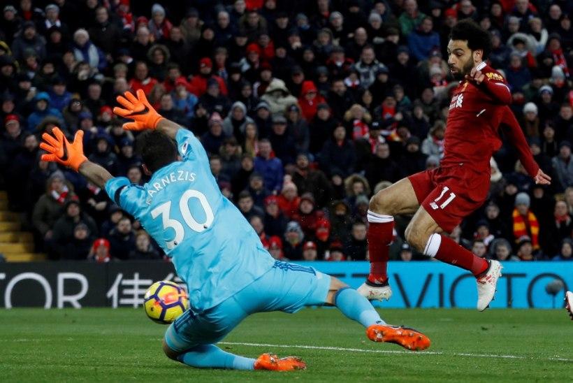 VIDEO | Neli väravat paugutanud Liverpooli superstaar palus vastaste puurivahilt vabandust