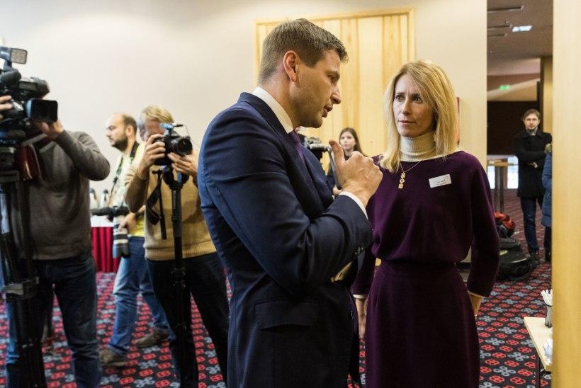 VÄIDETAV SALAKAMPAANIA KANNAB VILJA? Hanno Pevkur jäi riigikogu asespiikri kohast ilma, asemele valiti Kalle Laanet