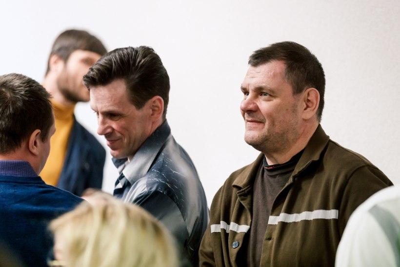 FOTOD | Narkoäris väidetavalt kümneid miljoneid pööritanud mehed astusid kohtu ette