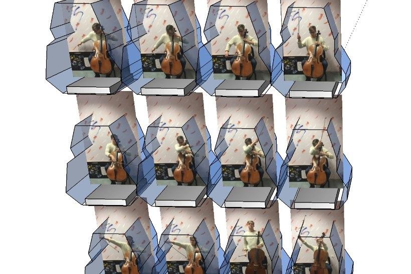 """Balletis """"Keres"""" paigutatakse muusikud heliloomingu esitamiseks klaaskastidesse"""